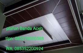 Plafon PVC / gypsum Banda aceh