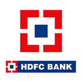 Need of fresher candidates required for HDFC bank.