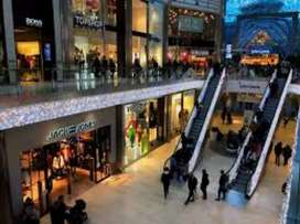 GRADUATE TO 8TH PASSED REQUIRED FOR SHOPPING MALLS
