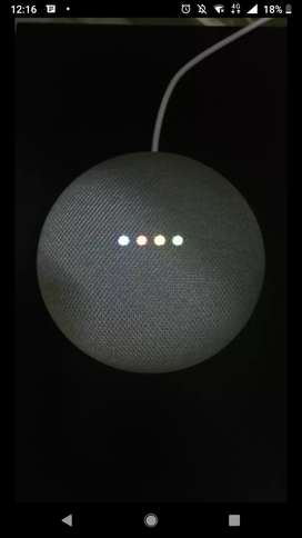 Google Home mini Only 1 month old . Trending in market