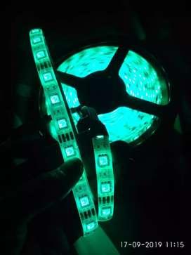 Lampu Keren Led Strip Anti Air (RGB)