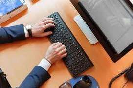 Dear candidates, Home based job simple with typing work