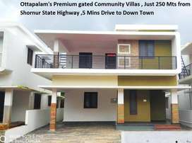 Just 5 min drive to town - Ottapalam's premium Gated community villas