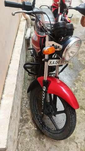 Platina 100cc red colour