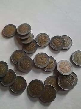 Uang logam antik asli