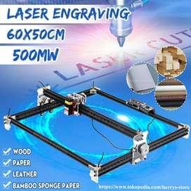 MESIN CNC LASER CUTTING GRAFIR ENGRAVING KAYU 500MW