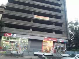 Road touch 500 sqft shop for sale in Bavdhan in a commercial complex