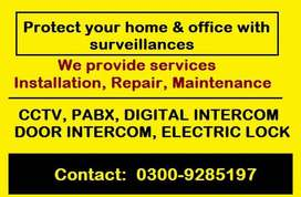 Secure Your Home and Office, Install CCTV