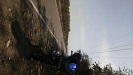 Pulsar 220 blue n black colour,clean and both tyres are new