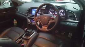 Hyundai Elantra SX (O)  Good condition silver colour