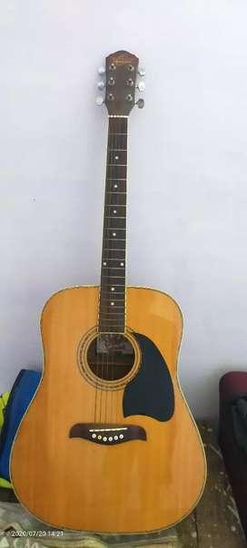 OscarSchmidt OG2N Acoustic Guitar with Free bharat bag and Capo