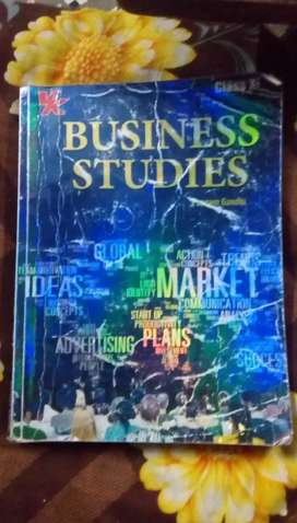 Bussiness studies book of class11