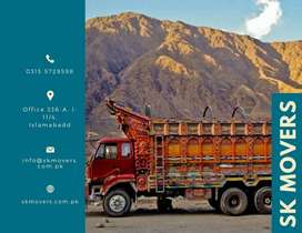 Movers & Packers in Islamabad Home Shifting Shazor , Mazda, Containers