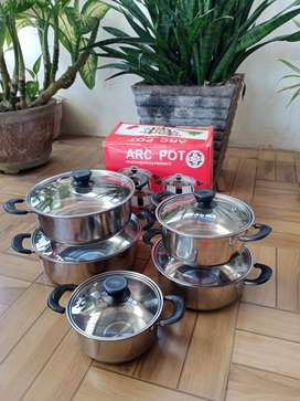 panci set isi 5 pcs merk ARC pot