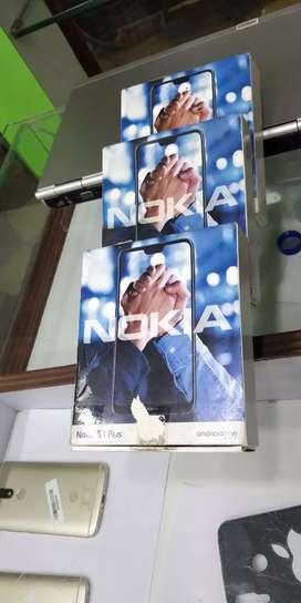 Sky mobiles Nokia 6.1plus mobiles 4gb ram 64gb ROM memory