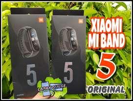 (GLOBAL) XIAOMI MI BAND 5 AMOLED DISPLAY smartband miband ori baru