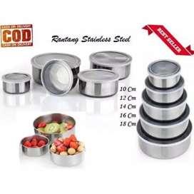 Set rantang stainless steel