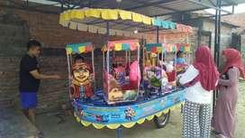 Kereta odong2 mainan eskavator mini UL