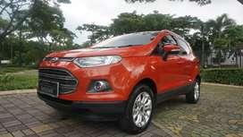 Ford Ecosport Titanium AT 2015 Orange,.KM 50rban sangat terawat