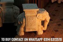 Elephant as table or garden chair (home delivery available)