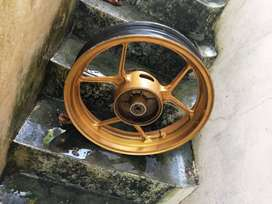 Suzuki gixxer rear alloy wheel