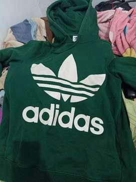 Hoodie Adidas treefoil original