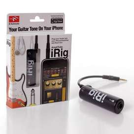 iRig AmpliTube Guitar Interface Adapter for iPhone  Solo Micro