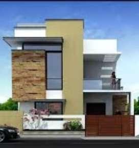 3bhk proposed duplex house in borsi