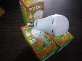 Lampu emergency bisa menyala disaat mati lampu dan bergaransi
