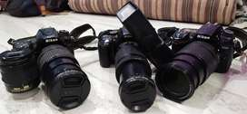 NIKON DSLR CAMERAS ONLY ON RENT AVAILABLE
