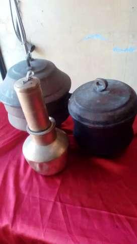Antique vintage Brass bronze utensils