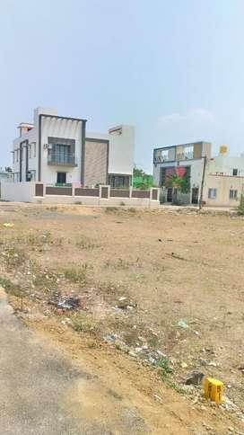 1000 Sqft Plot for for Sale near SRM College GST road