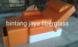 bangku refleksi atau kursi refleksi kombinasi putih orange