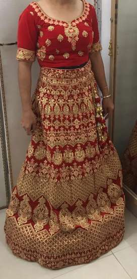 New bridal lengha
