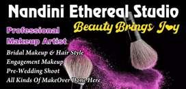 Makeup Artist (Nandini Ethreal Studio) LAKME Certified
