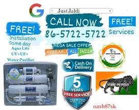 oash87sk WATER PURIFIER WATER FILTER TV DTH   FREE INSTALLATION AND SE