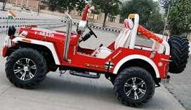 Jainish Motors Open Modified Hunter Jeeps on order ready