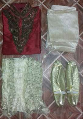 Sherwani for sell rearly used in good conditions