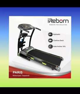 alat fitness promo treadmill elektrik paris auto incline