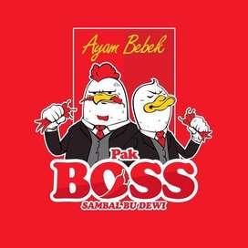 Over Franchise Ayam Geprek Penyet not Gembus Bensu Coffee Shop Boba