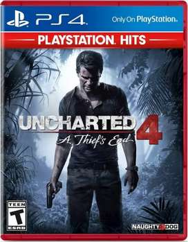 Unchartered 4 Thiefs End.Ps4 game