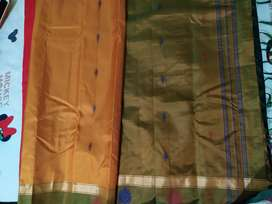 Silk saree.