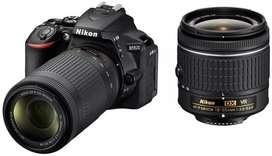 Nikon DSLR D-5300 camera with 3 lens