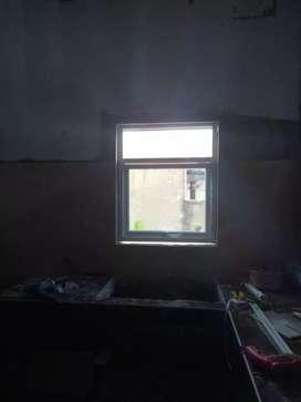 Modern minimalis jendela kaca - alumunium harga terjangkau