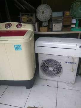 Terima serfis ac kulkas mesin cuci tv led psg listrik