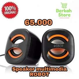 Robot Speaker USB RS160 Multimedia