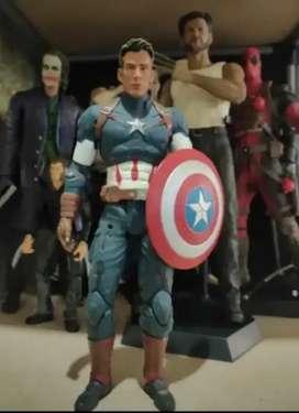 Action figure captain america
