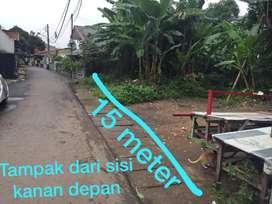 Dijual cepat lahan tanah kavling di curug pondok kelapa