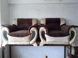 Sofa set (full covered)