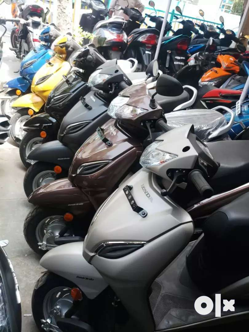BRAND NEW HONDA ACTIVA 5G FOR JUST 5555 DOWN PAYMENT 0
